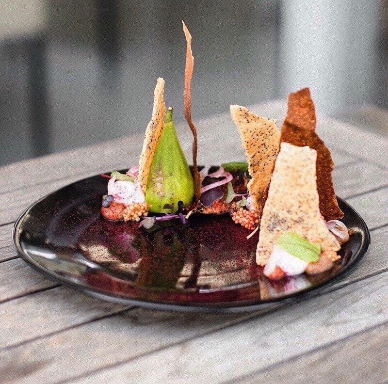 summer fig at Cavalli Restaurant