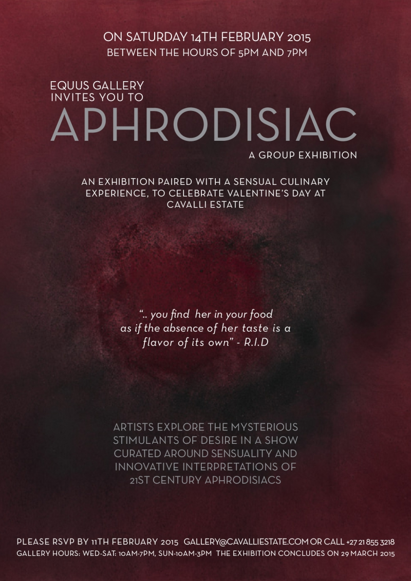 aphrodisiac invitation