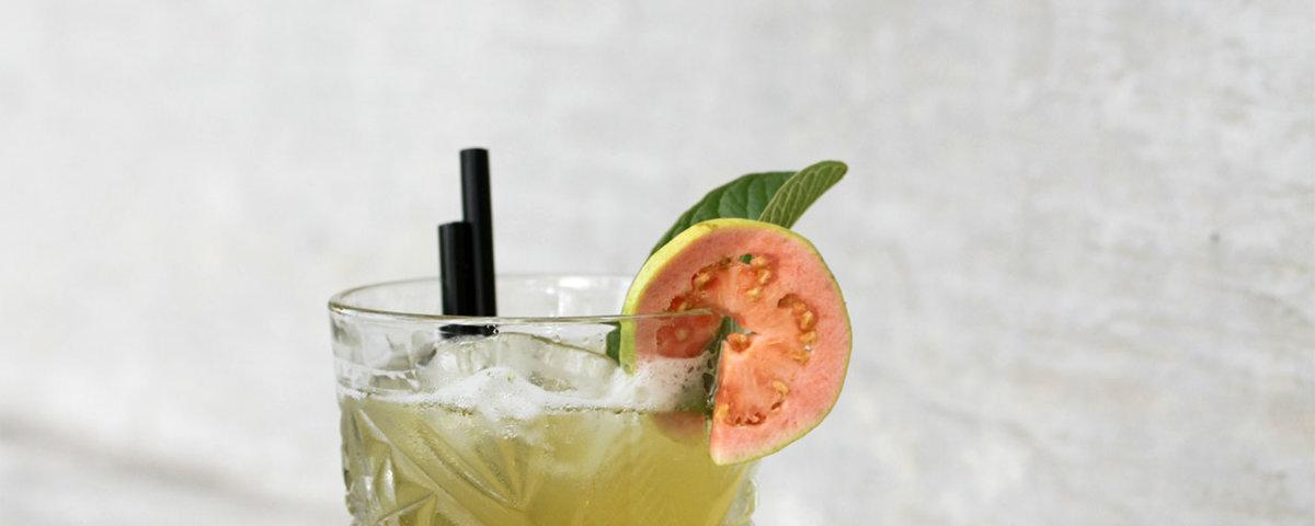Guava Cocktail Cavalli Estate Wedding Venue Wine