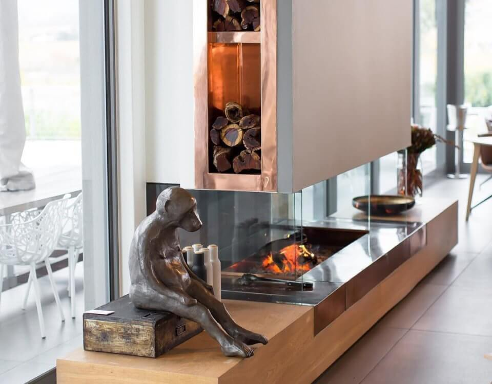 cavalli wine estate restaurant with fireplace image