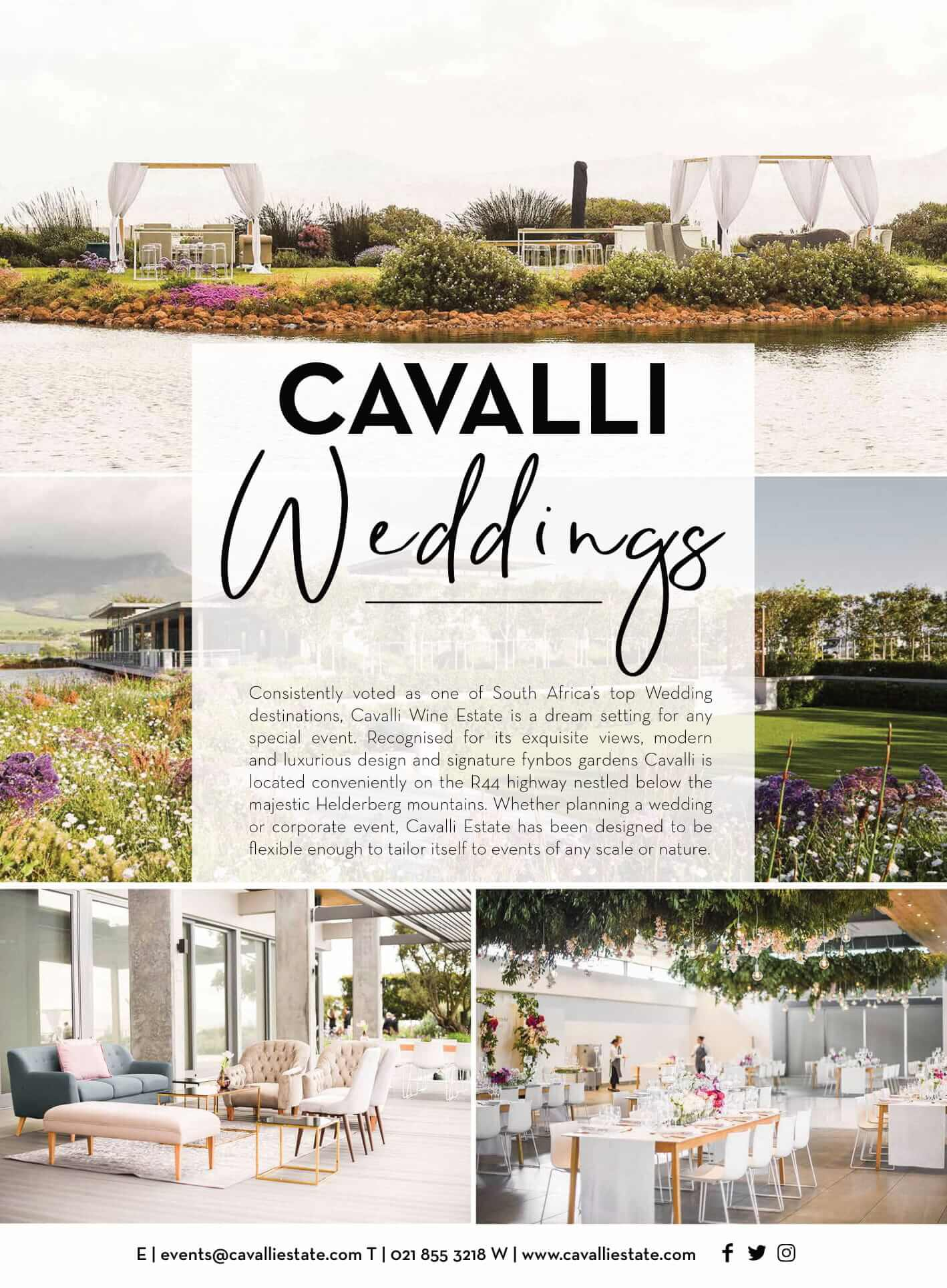 Real brides magazine - cavalli estate