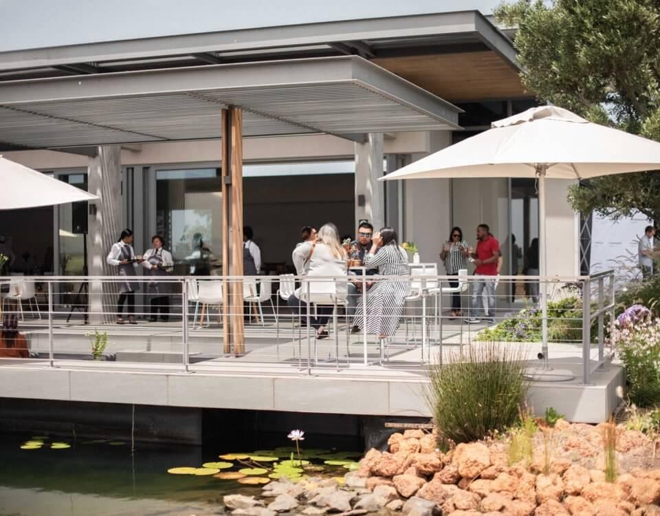 Cavalli restaurant terrace 1
